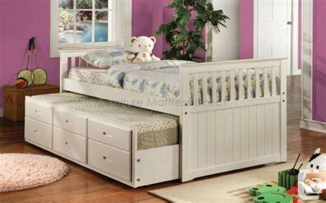twin size bed for sale captain bed w 2 twin size beds and drawers sale