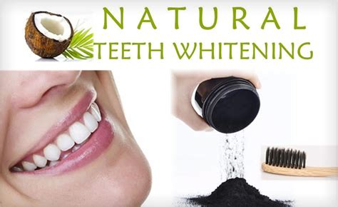coconut charcoal teeth whitening powder