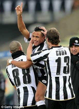 alexis sanchez udinese goals chelsea target alexis sanchez staying at udinese insists