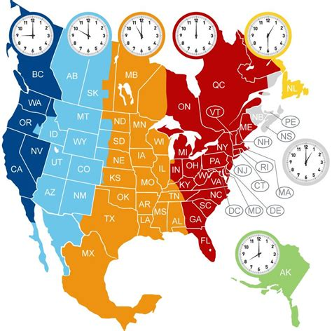 time zone map usa and canada pin by antoinette croteau on canada time