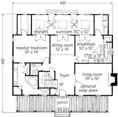 Center Gable Cottage Philip Franks Southern Living Southern Living House Plans 2500 Sq Ft