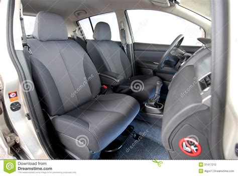 front seat of car called front seats in car stock photo image 31417210