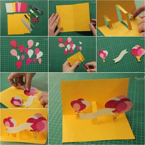 How To Make A Paper Birthday Card - easy diy birthday cards ideas and designs