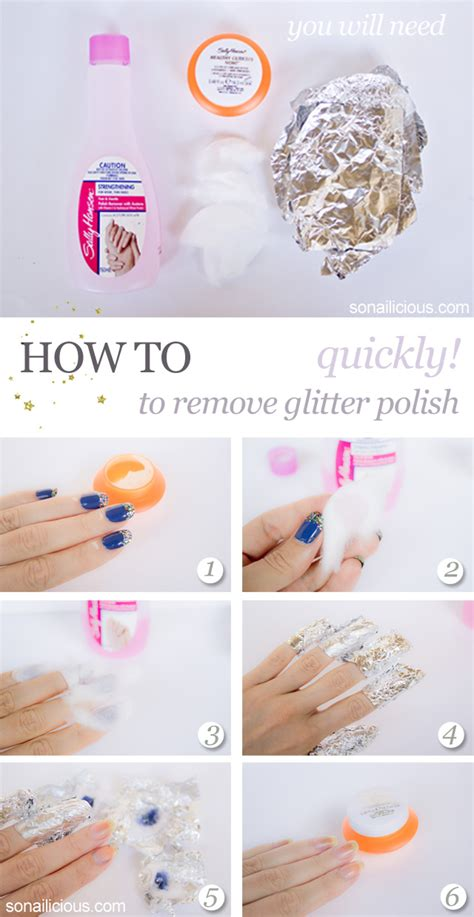 how do you get nail polish off a couch how to remove glitter polish quickly