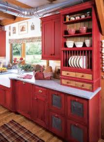 Kitchen Decorating Ideas With Red Accents by Country Kitchen Decorating Ideas Panda S House