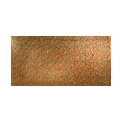 Decorative Wall Panels Home Depot Fasade 96 In X 48 In Decorative Wall Panel In Copper S58 11 The Home Depot