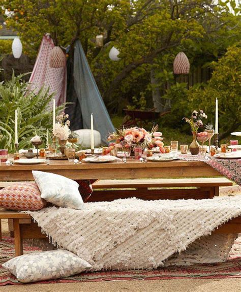Table Centerpiece Ideas Feliz Cumplea 241 Os En Magn 237 Fico Estilo Boho