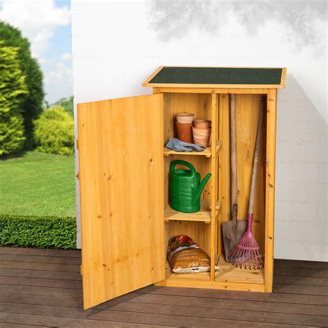 Armoire de jardin remise pour outils abri atelier bois