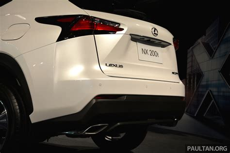 lexus nx malaysia lexus nx launched in malaysia from rm299k rm385k image 307891