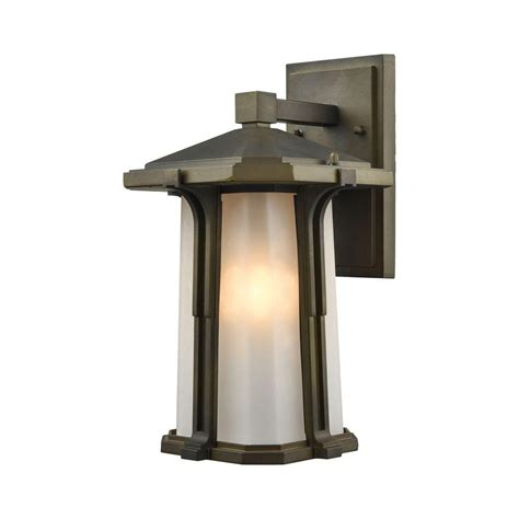 Home Depot Outdoor Wall Lighting Hinkley Lighting Low Voltage 7 Watt Bronze Flushmount Outdoor Deck Sconce 8524bz The Home Depot