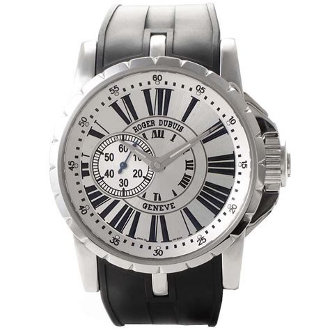 Roger Dubuis Excalibur World Time Silver replica roger dubuis excalibur automatic ex4277 189 00