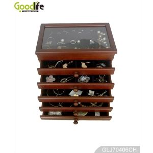 Drawers For Jewelry Storage by Lovely Wooden Jewelry Storage Box With Drawers For