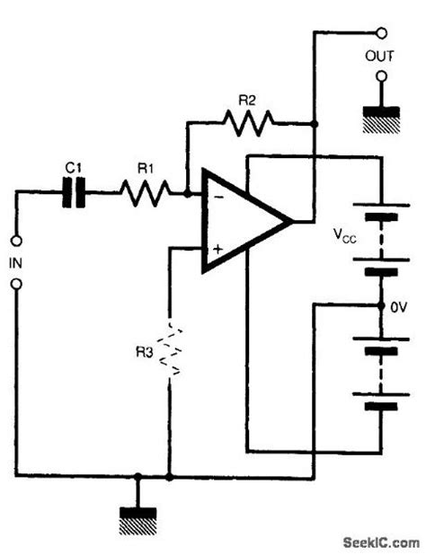 op dc blocking capacitor index 98 lifier circuit circuit diagram seekic