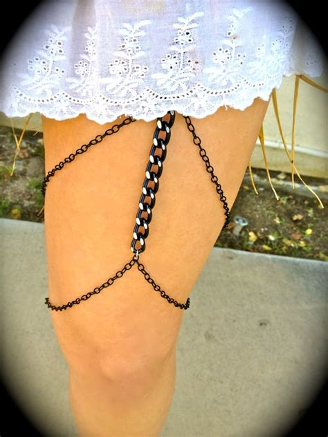 how to make leg chain jewelry 1000 ideas about leg chain on chains