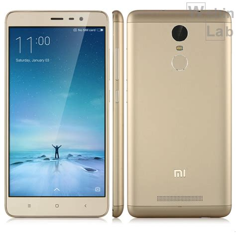 Hp Xiaomi Redmi Note 3 Gold xiaomi redmi note 3 oro 16gb 2gb blanco smartphone