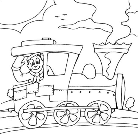 coloring pages trains preschoolers printable train colouring pictureskidsfreecoloring net