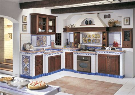 cucine di cagna in muratura cucine in finta muratura foto design mag