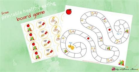 Playeat Boardgame Picknic kitchen healthy printable sugar spice and glitter