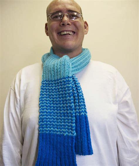 Striped Scarf Knitting Pattern A Knitting