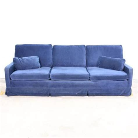 blue sofa sleeper retro electric blue sofa sleeper loveseat vintage