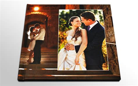 Wedding Photo Book by Wedding Book With Lay Flat Coated Pages Bridebox