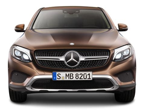 front view brown mercedes gle coupe front view car png image