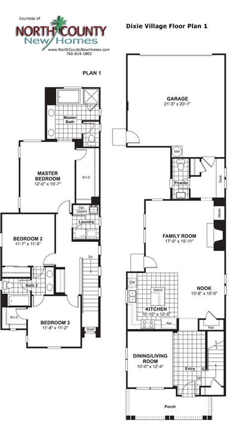 village homes floor plans dixie village floor plan 1 new homes in oceanside