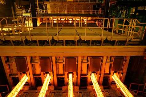 saarstahl banks  continuous casting technology  sms concast