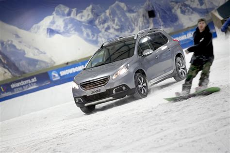 peugeot tamworth peugeot 2008 crossover climbs the tamworth snowdome