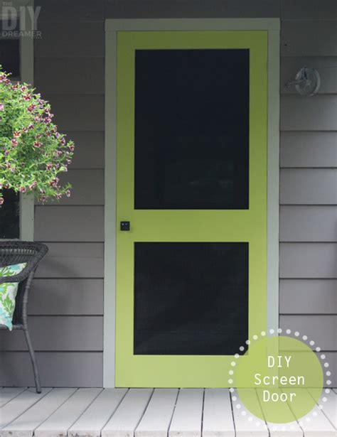 Diy Screen Door by 5 Diy Projects You Can Do In A Day
