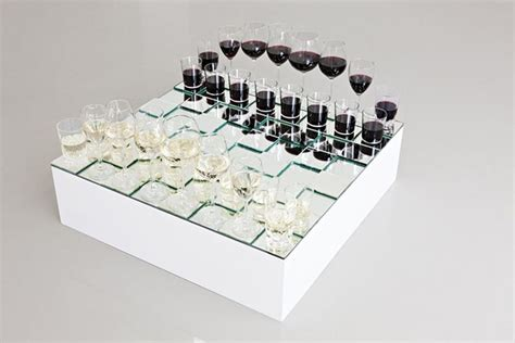 glass chess boards wine glass chess set alltop viral