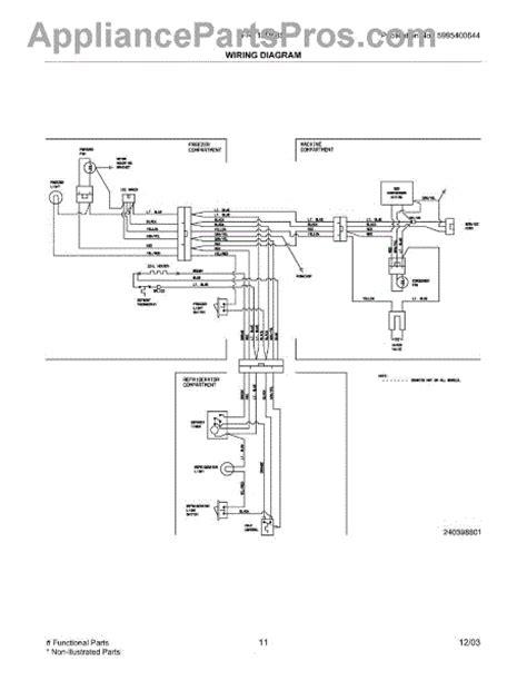 wiring diagram for frigidaire refrigerator get free