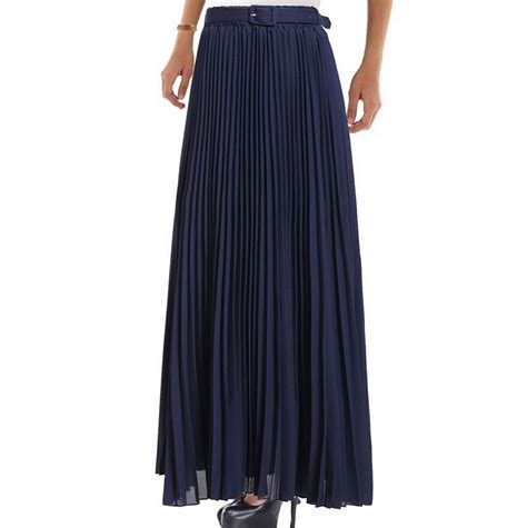excellent pleated chiffon skirt 2016