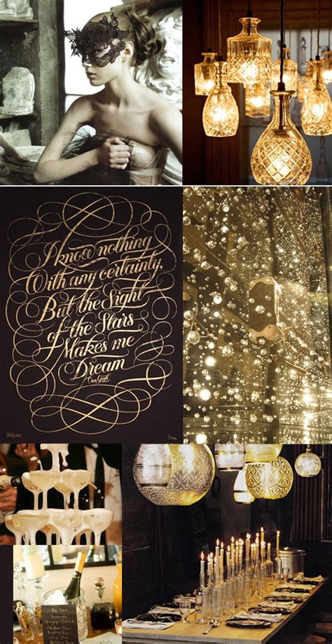 gold themes party 109 best new year s eve black gold party images on