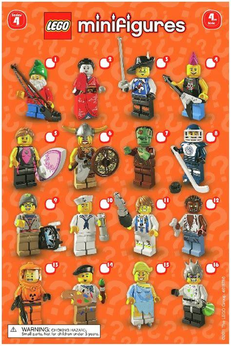 Series 8804 5 Set 3 In 1 lego lego minifigures series 4 8804 mini figures