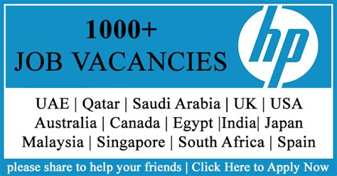Vacancies For Mba Freshers In Qatar by Hp Needs Employees Submit Applications Now Career Tips