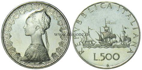 500 lire centenario d italia valore italia 500 lire argento