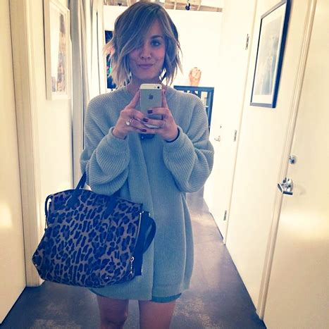 Kaley Cuoco Chops Her Long Locks In Instagram Pic Upi Com   kaley cuoco chops off hair shares selfie photos