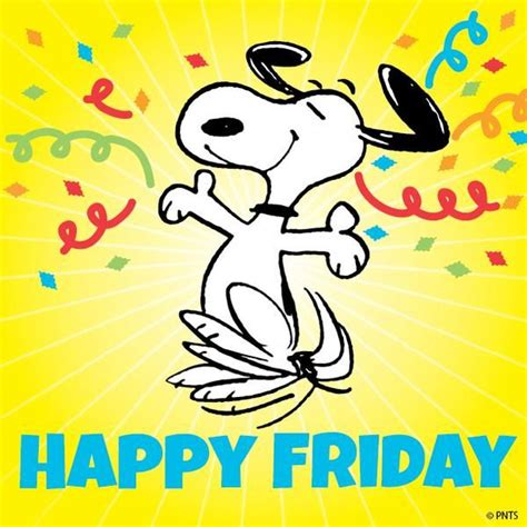 Happy Friday 3 by 182 Best Images About Friday On Peanuts Snoopy