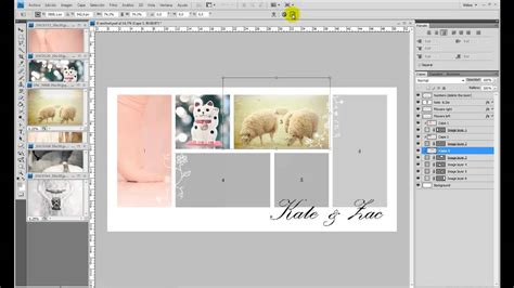 templates for collages in photoshop collage template tutorial photoshop by neus designs
