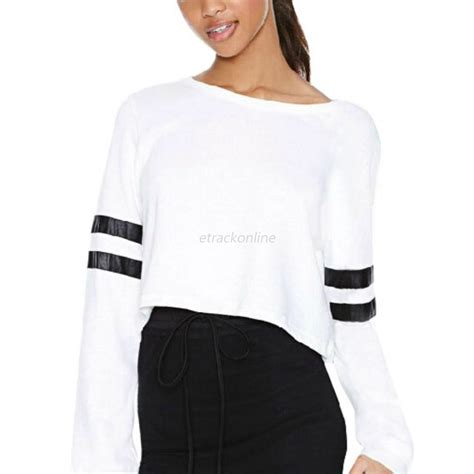 Sweater Crop Hoodie hoodie sweatshirt sleeve crop jumper