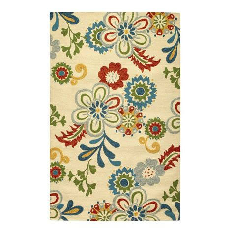home accent rug collection home decorators collection tilly ivory 8 ft x 10 ft area