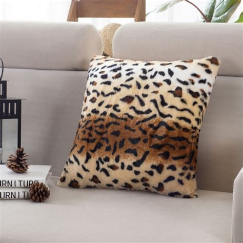 Animal Print Pillow Cases by Fashion Pillow Cases Square Animal Print Leopard Zebra