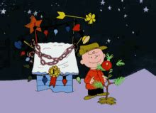 charlie brown christmas gifs brown gifs tenor