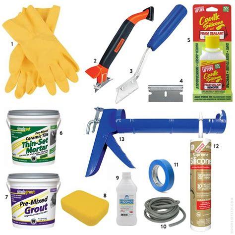 bathroom cleaning tools doorsixteen aptcaulk tools how to clean fix grout calk
