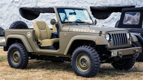 Jeep Styles This Is A Modern Day Willys Jeep Top Gear