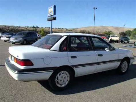 how to fix cars 1993 ford tempo lane departure warning 1991 ford tempo richland wa youtube