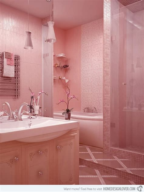 sweet bathroom designs 15 chic and pretty pink bathroom designs home design lover