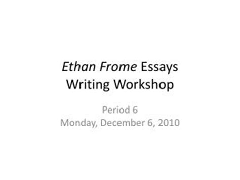theme quotes in ethan frome ppt anti feminism in ethan frome powerpoint presentation