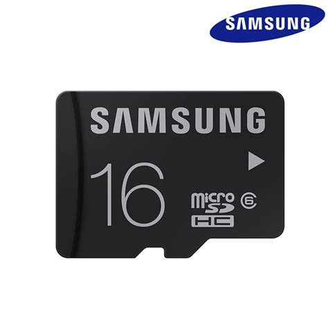 genuine samsung 16gb micro sd tf memory card class 6